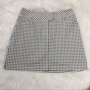 Tail Navy Blue And White Gingham Golf Skort Sz 8